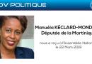 Le CODIUM reçu par Manuéla KÉCLARD-MONDÉSIR Députée de la Martinique sur la Réforme des congés bonifiés
