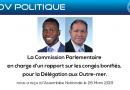 Le CODIUM audionné sur la Réforme des congés bonifiés par la Commission parlementaire aux Outre-mer