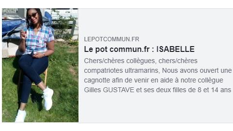 Pot commun pour Isabelle