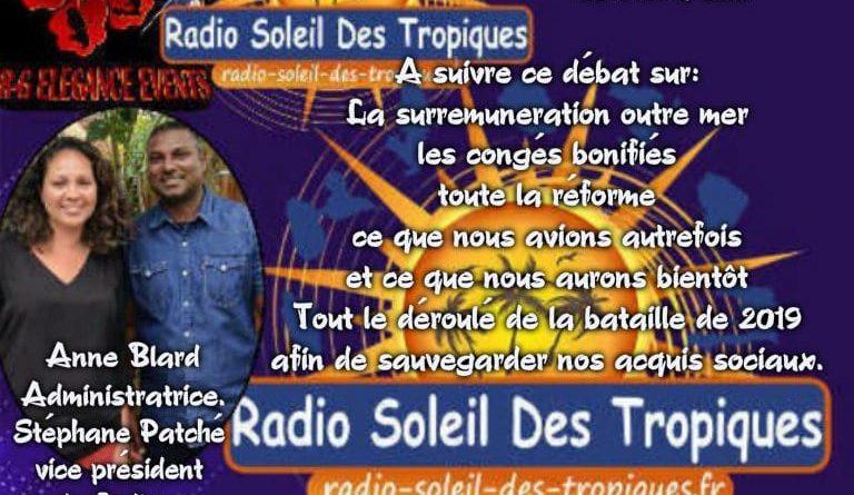 Le CODIUM sur la Radio Soleil des Tropiques le 04/07 à 14h